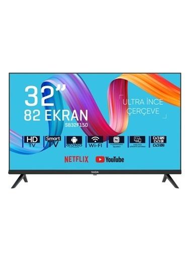 Saba Tv Sb32F151 32'' Frameless Androıd Smart Led Tv Renkli